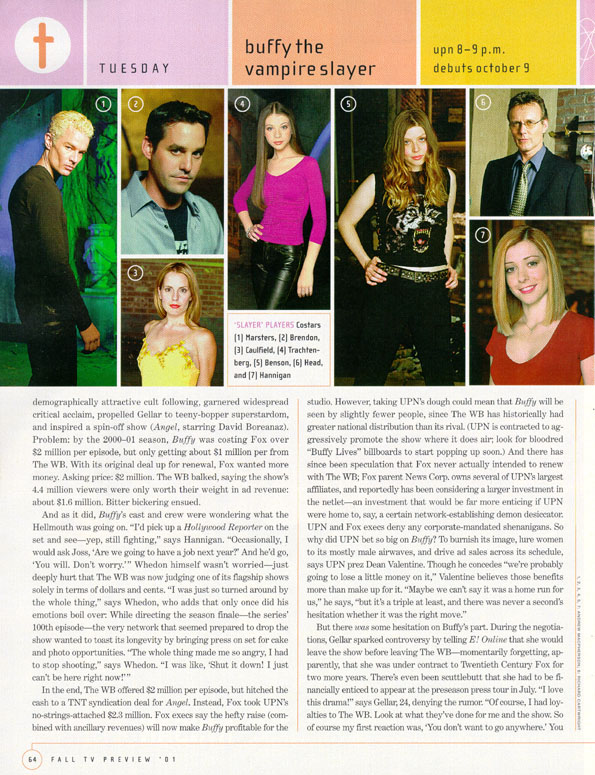 entertainment weekly buffy