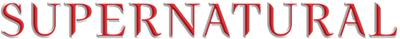 Supernatural (Sobrenatural) Supernatural_Logo_400x39