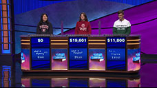 [Jeopardy! 2018 College Championship - Image of the final results]