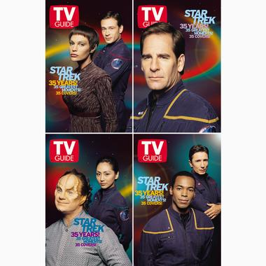 TV Guide 35th Anniversary covers: Enterprise